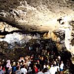 Sypialnia - największa sala w Jaskini Łokietka