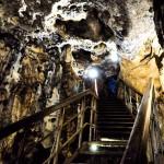 Schody w Jaskini Łokietka