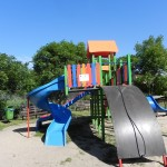 Plac zabaw os. Świerczewskiego w Słomnikach