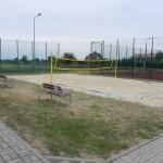 Budowa boiska do piłki plażowej w Słomnikach