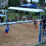 Jurajska plaża - turniej siatkówki plażowej w Gminie Jerzmanowice-Przeginia