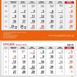 kalendarz dzielny 2015