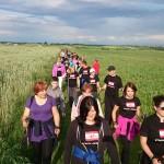 """Projekt współpracy """"Nordic  Walking Park na Jurze"""" fot. Rafał Przyszlak (Stacja Zdrowie)"""