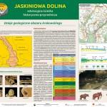 Tablica Jaskiniowa Dolina stanowisko 1